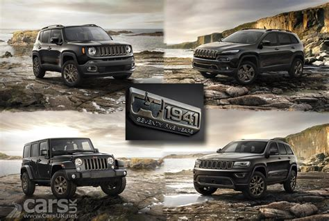 Jeep Grand Model Years Jeep Renegade Wrangler And Grand 75th