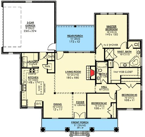 house plans acadian handsome acadian house plan 56395sm architectural