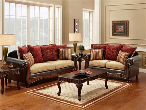 Sofa Set traditional sofa set fa7490 traditional sofas