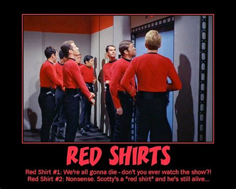 Star Trek Red Shirt Meme - star trek sci fi blog star trek s classic redshirts