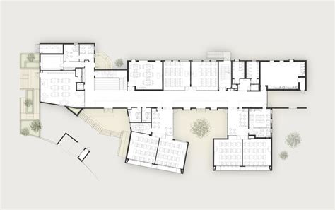 elementary school floor plan elementary school in tel aviv auerbach halevy architects