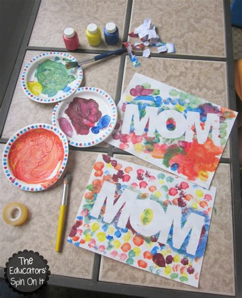 mothers day diy crafts 30 cheap s day crafts that speak for themselves