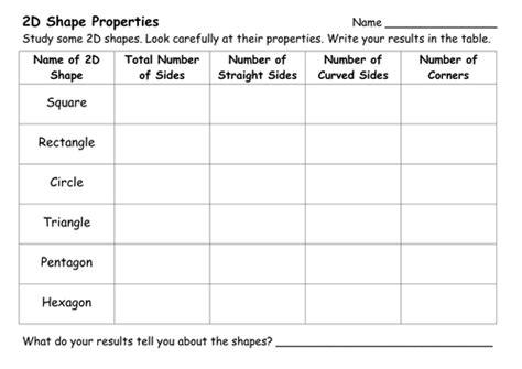 shapes worksheet ks1 2d and 3d shape worksheets by ehazelden teaching