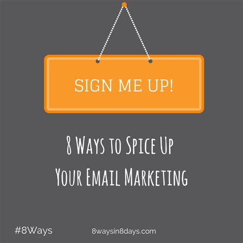 8 Ways To Liven Up An Office by 8 Ways To Spice Up Email Marketing Tips And Tricks