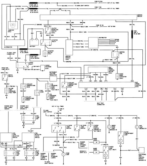 1988 ford ranger relay diagram 1988 get free image about