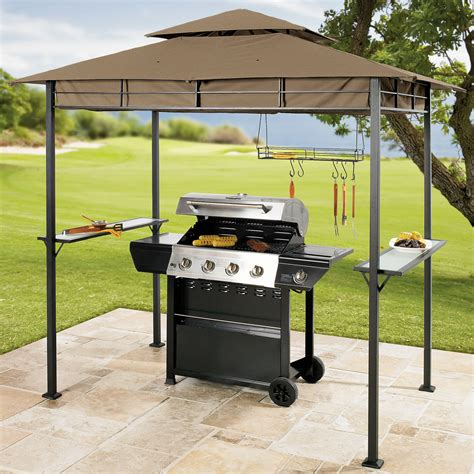 bbq gazebo create a grilling oasis with the brylane home grilling gazebo