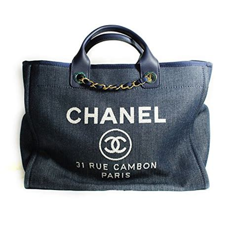 Chanel Deaville Shopping Tote Bag Vl971 chanel 2014p deauville canvas large tote bag