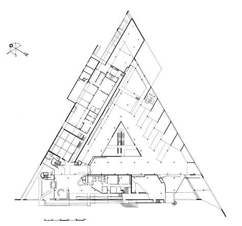 Louis Kahn Floor Plans by Henri Ciriani Musee D Arles