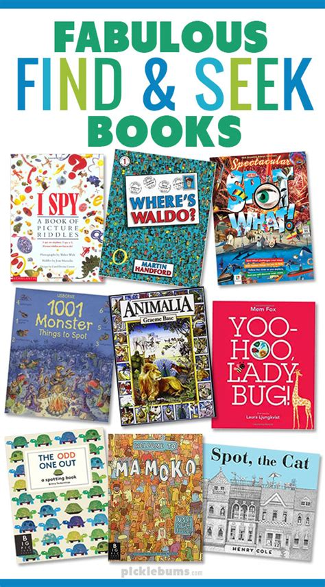 seek and find books pictures ten fabulous find and seek books for picklebums