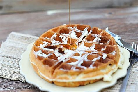 the greatest waffle recipe ever recipe dishmaps