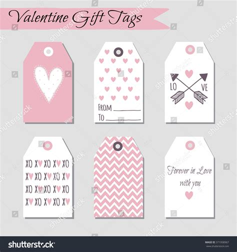 valentines day card template stitch set valentines day cards designs vector stock vector