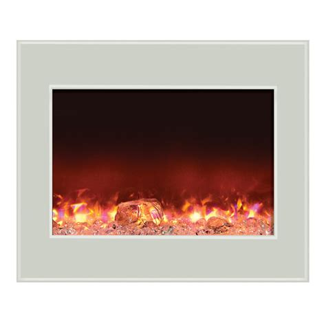 amantii zero clearance electric fireplace w