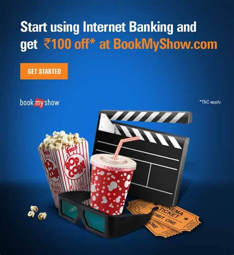 bookmyshow offer icici bank bookmyshow offer