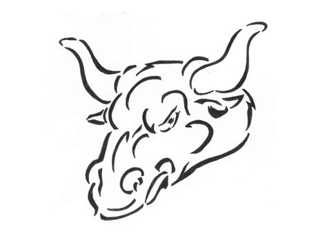 angry bull tattoo design angry bull design tattooshunt