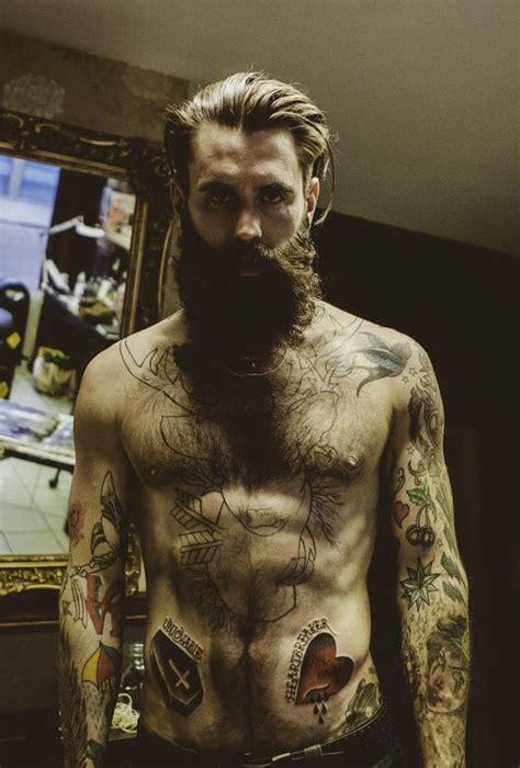 tattoo nude tumblr beard fashion style