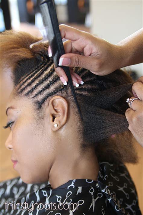 white bumps around braided hair braided bump hairstyle
