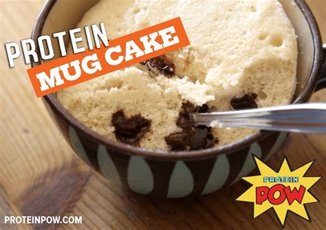 protein mug cake protein mug cake protein pow