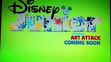 painting on disney junior disney junior uk attack bumper