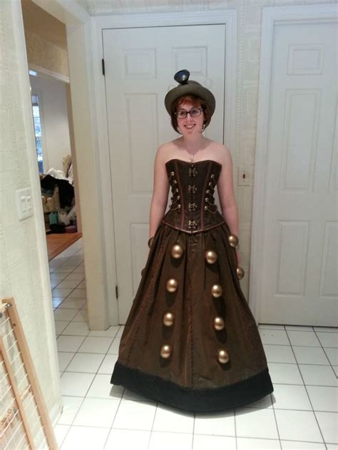 diy dalek dress dalek costume ohmygoshyes because im a whovian and what is