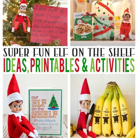 elf on the shelf ideas 2015 printable elf on the shelf ideas printables activities eighteen25