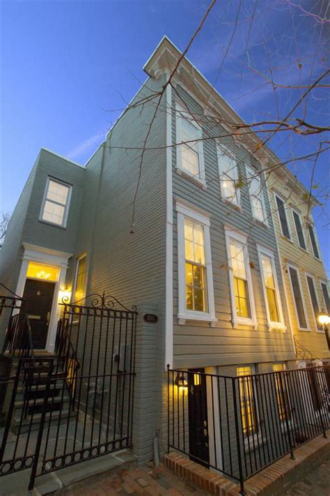 Georgetown Rowhouse Renovation Becomes Leed Platinum Showpiece | georgetown rowhouse renovation becomes leed platinum showpiece