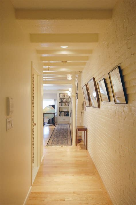 hall painting painting brick house hall rustic with brick wall exposed