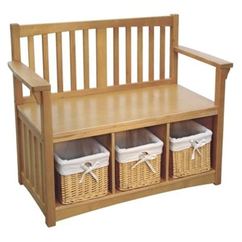 storage benches with baskets storage bench with baskets for the home pinterest