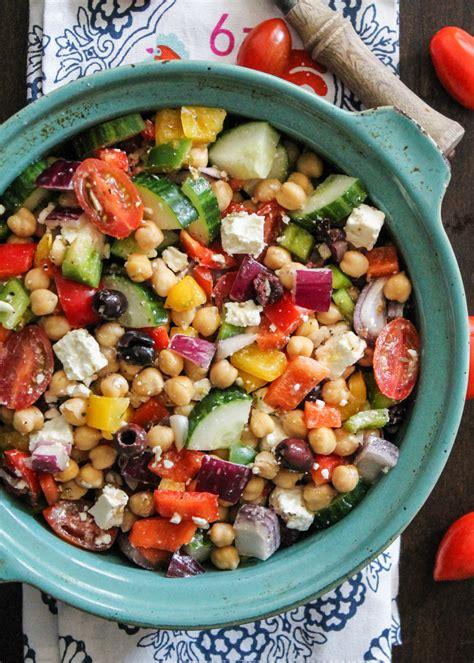 chickpea salad the 25 best greek chickpea salad ideas on pinterest