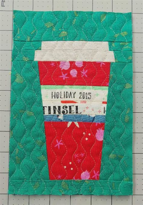 Coffee Quilt Pattern by Free Quilt Pattern That Cup