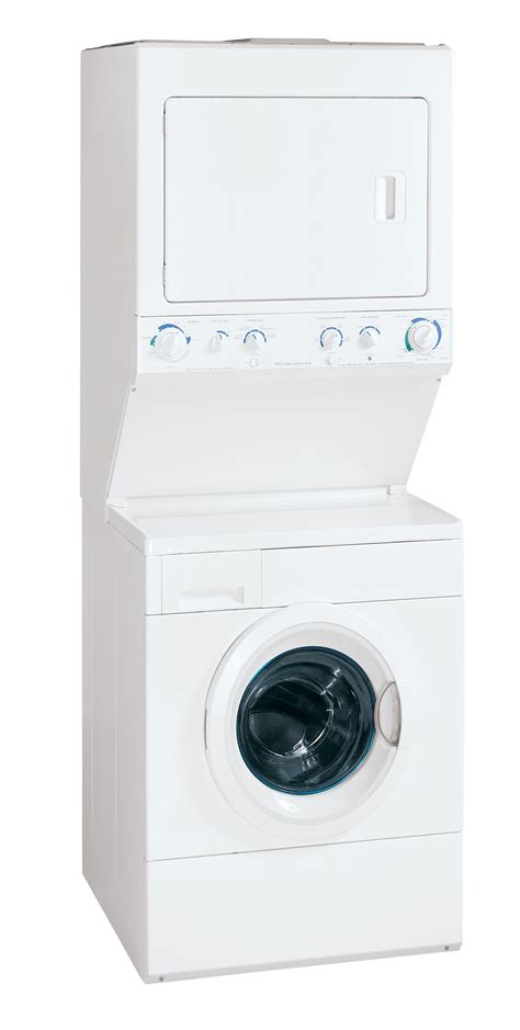 stackable washer and dryer sears frigidaire 27 in gas front load laundry center with dryer glgh1642f energy appliances