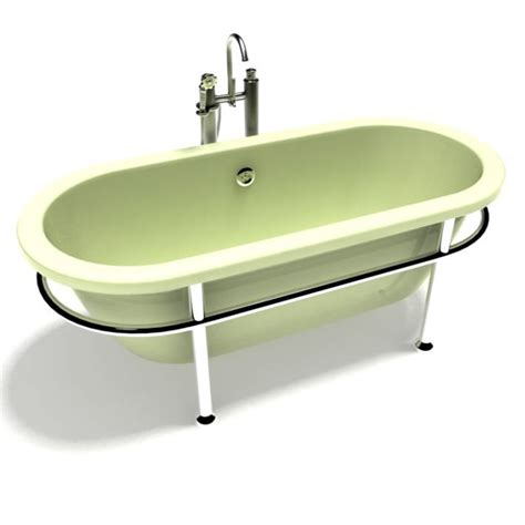 old fashioned bathtub old fashioned bath tub 3d model cgtrader com