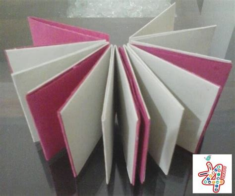 Origami Notebook - diy learn to make origami mini notebook k4 craft