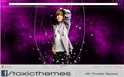 go launcher themes justin bieber justin bieber purple space by toxic chrome web store