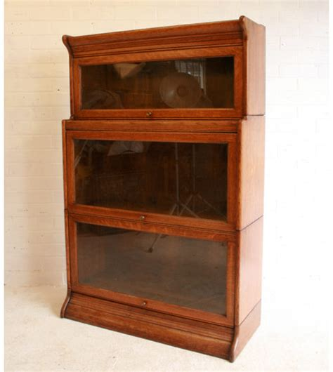 An Oak Sectional Bookcase By Gunn Antiques Atlas