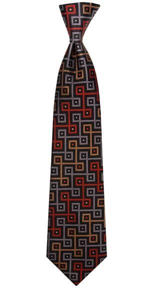 turnbull asser black tie with square motifs bond lifestyle