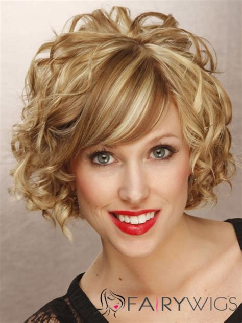 short on one side curly hairstyles truly shirley maclaine short wavy capless real human hair