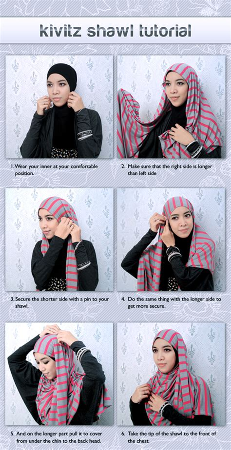 tutorial hijab syar i fitri aulia cik bunga a k a ciktim tutorial hijab by fitri aulia
