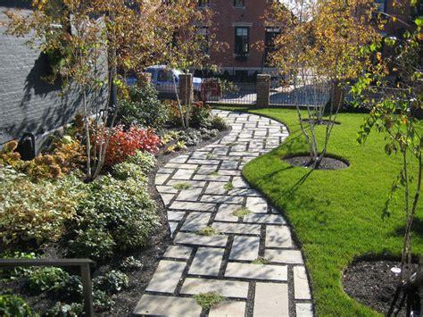 curved sidewalk in front of side entry garage love it 75 walkway ideas designs brick paver flagstone