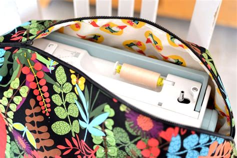 pattern sewing machine bag trying out a new pattern from sew sweetness sewcanshe