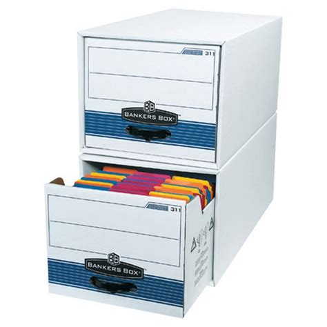 Letter Size Stor/Drawer Steel Plus File Storage Boxes (Box