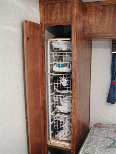 Rv Closet Organizer by Rv Closet Storage Ideas Images Frompo 1