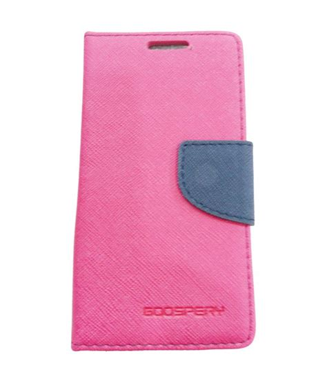 Xperia M Flip Cover Pink oem pink synthetic flip covers for sony xperia m flip