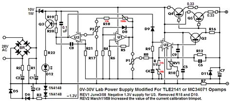stabilized power supply projects qa electronics