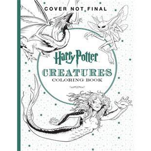 harry potter coloring book goodreads harry potter the official coloring book 2 creatures by