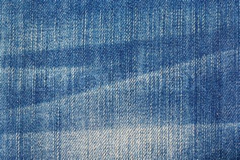 Denim Patterns Blue With A Pattern Background Stock Photo