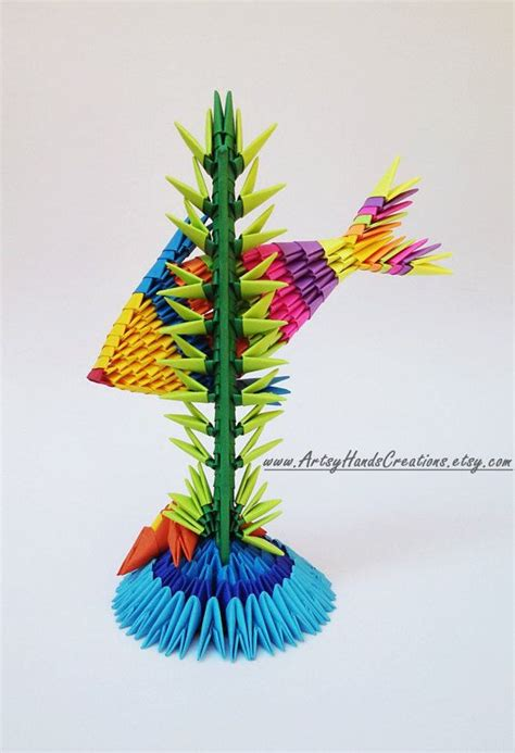 3d Origami Fish - 1879 best images on modular