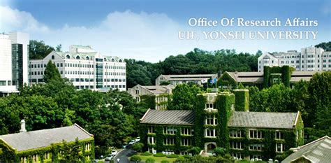Office Organization by Home Office Of Research Affairs Uif Yonsei University