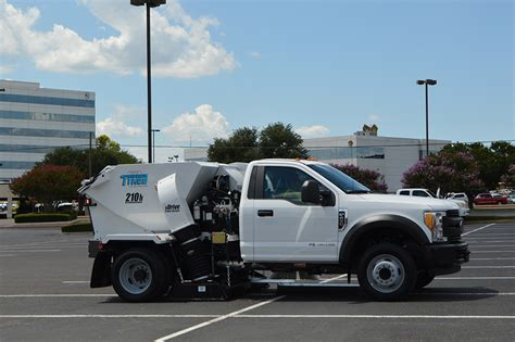 model  parking lot sweepers manufacturer texas