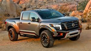 trucks nissan s titan warrior concept how