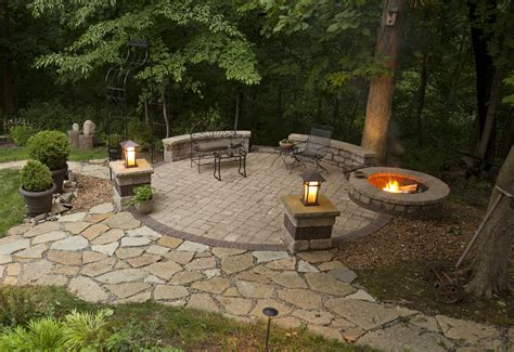 trendy fire pit landscaping ideas jbeedesigns outdoor